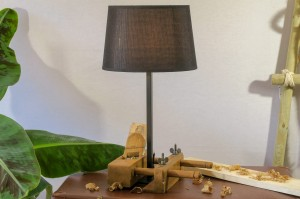 Bossingschaaf lamp