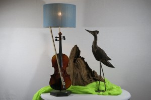 Viool lamp